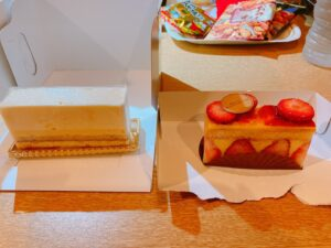 アヴランシュ ゲネーのケーキ